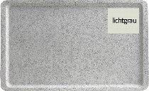 Tablett 53X37 cm EN GP 3980 lichtgrau Glasfaser
