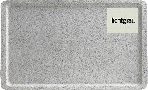 Tablett 1/1 GN 53X32 cm, GP4002 lichtgrau