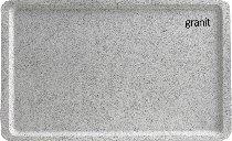 Tablett 53X37 cm EN GL 3980 Granit A83 Fiberglas-verstärktes Polyester
