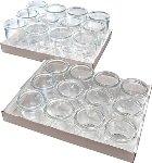 Gourmet-Gläser, 12er Set