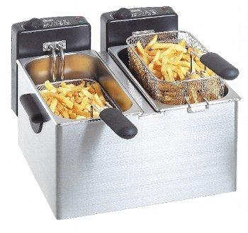 Elektro-Doppel-Fritteuse ''MINI III''