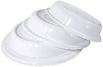 Tellerglocke Ø 26,5 cm weiß