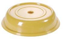 Tellerglocke 25,7 cm goldgelb
