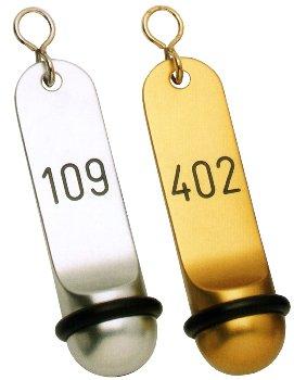 Hotel-Schlüsselanhänger klassisch