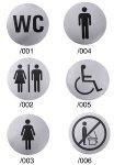 Türsymbol WC