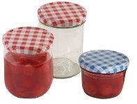 Einkochglas 350 ml mit Deckel 12 er Pack