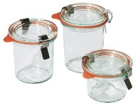 Weck-Mini-Sturzglas 140 ml 12-er Pack