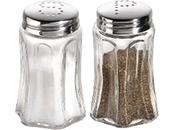 Salz-, Pfeffer- und Käsestreuer