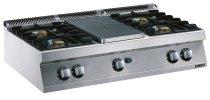 Gas-Glühplattenherd GGH7 / B4FT Serie EVO 700