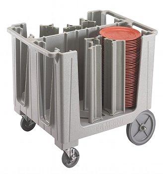Tellerwagen verstellbar Farbe grau gesprenkelt